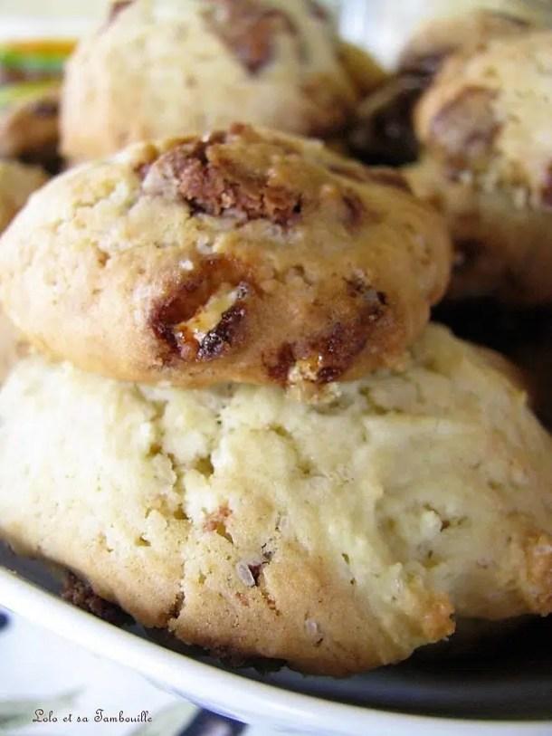 Cookies aux éclats de Toblérone