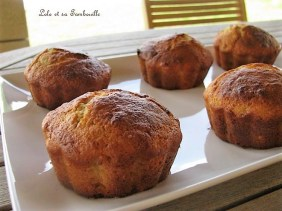 Muffins à la banane coeur de nutella (5)