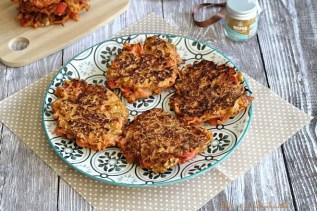 Galettes de carottes aux noix & épices (2)