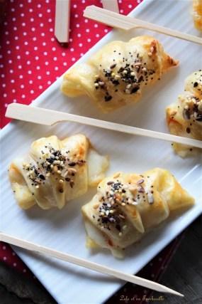 Croissants au chorizo & mozzarella (6)