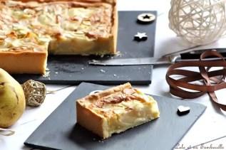 Tarte amandine aux poires (5)