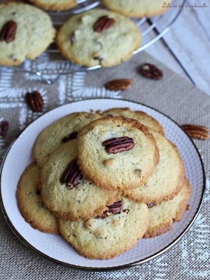 Cookies noix de pécan & sirop érable (4)