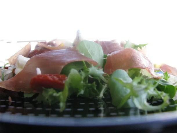 Salade au roquefort & tomates séchées