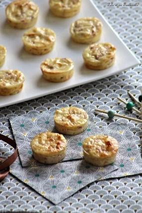 Bouchées au jambon & fromage (3)