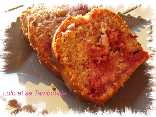 Cake aux framboises (2)