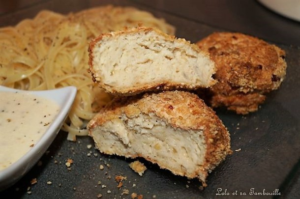 Croquettes de poulet au fromage