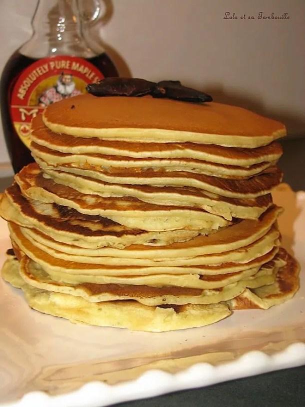 Pancakes américains à la fève tonka