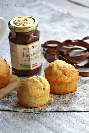 Muffins au lait de coco & pâte à tartiner (4)