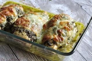 Poulet au pesto & mozzarella (4)