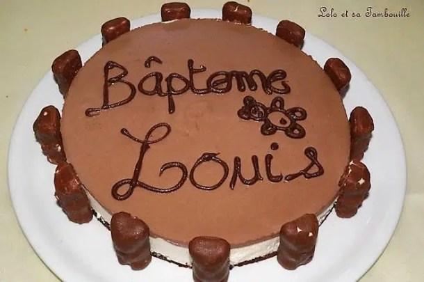 Bavarois à la vanille & chocolat