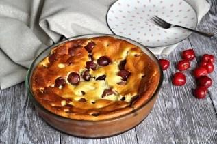 Gâteau léger aux cerises (5)