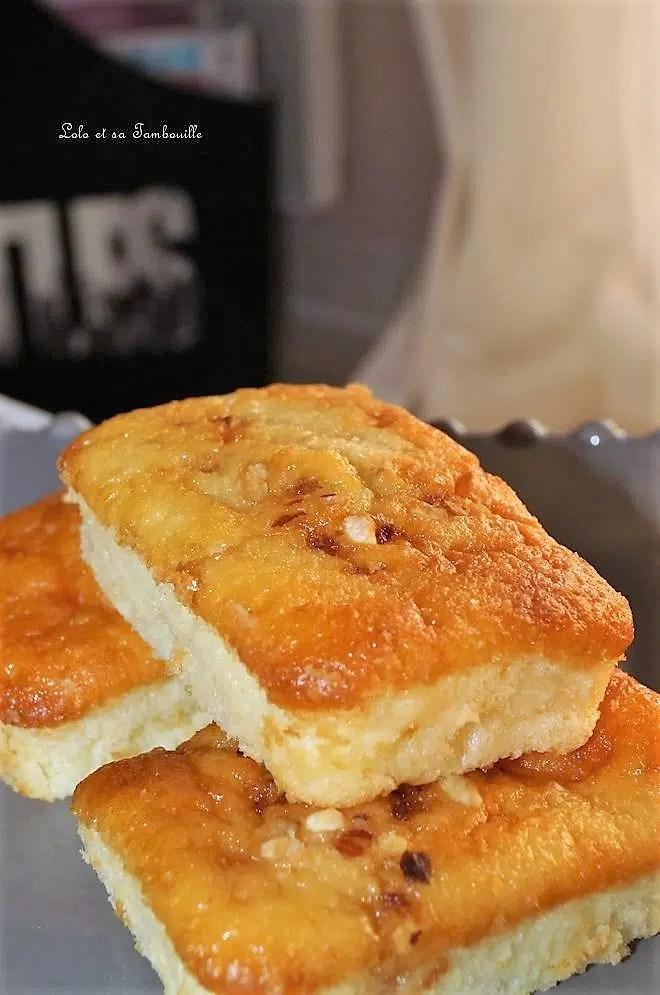 Cakes au fromage blanc & poire