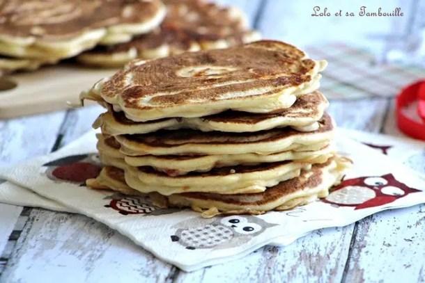 Pancakes au chorizo