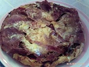 tatin aubergine jambon et chèvre magerde