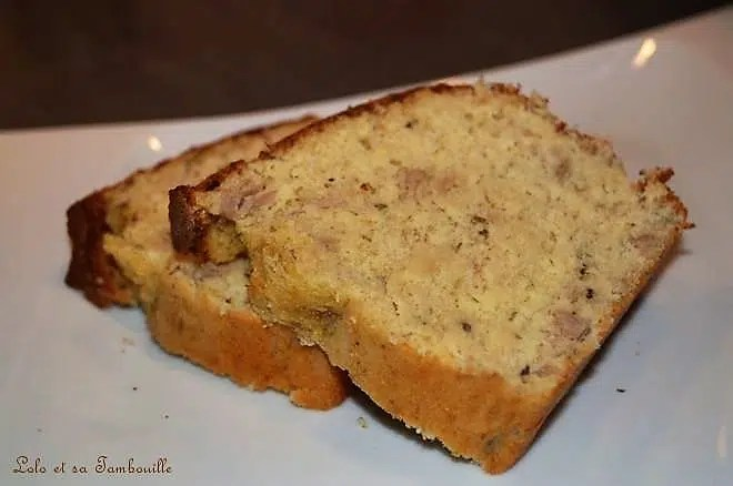 Cake A La Tomate Et Fromage Blanc