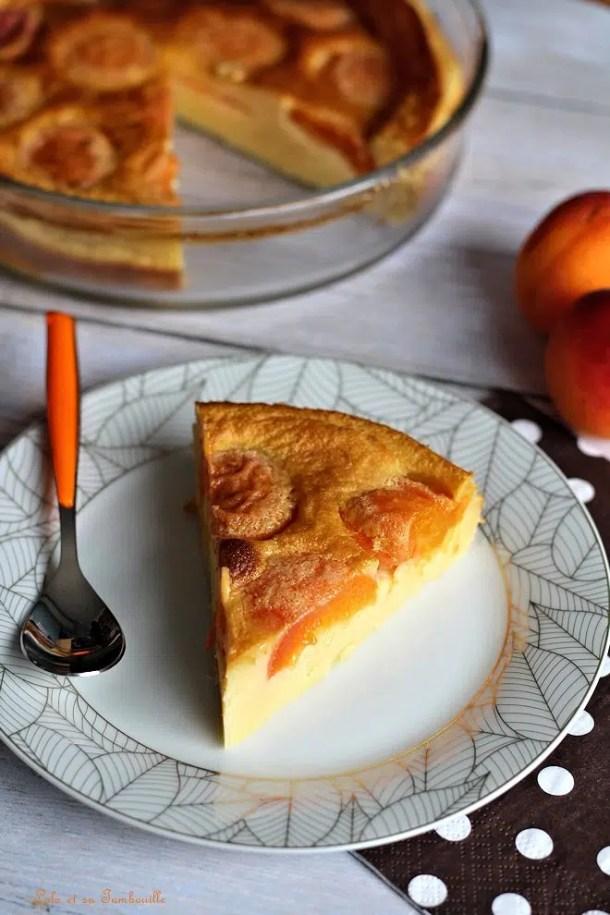 Clafoutis aux abricots & vanille