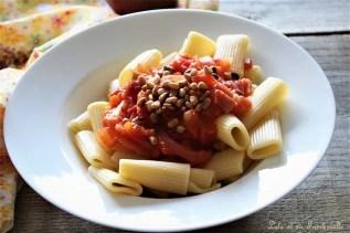 Compotée de tomates au bacon & pignons de pin (5)
