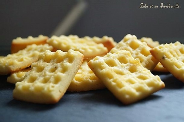 Mini Waffel au sucre de canne