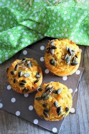 Muffins aux caottes, épices & sonss (4)