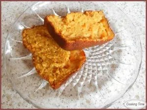 cake aux abricots cooking time