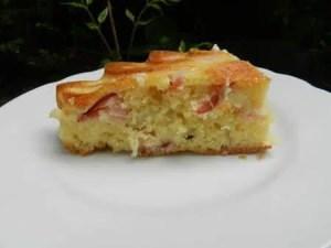 cake mozza et bacon nanou