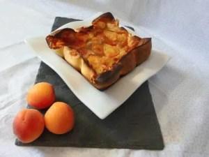 clafoutis aux abricots michelle