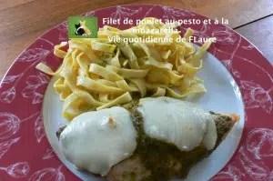 filet poulet_pesto_mozzarella Flaure