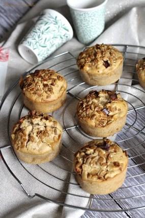 Muffins aux pommes & noisettes (3)