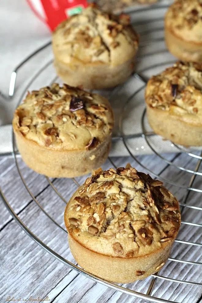 Muffins aux pommes & noisettes