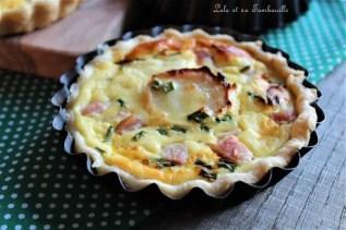 Quichette au fromage frais & chèvre (5)