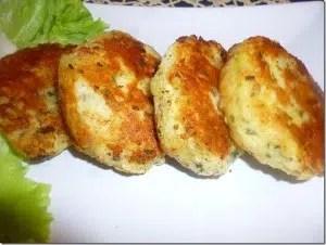 galettes de pommes de terre au fromage graines de lin assia