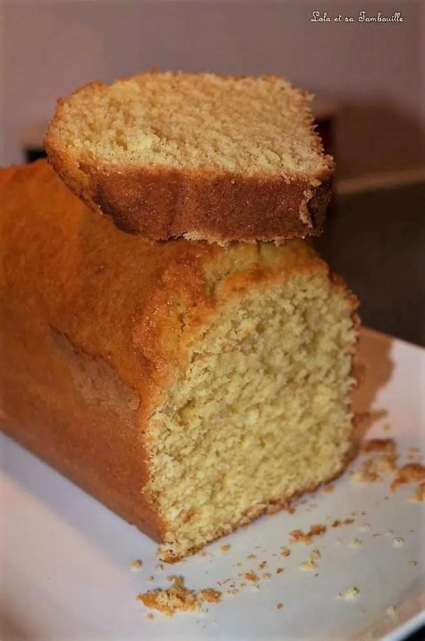 Cake à la fleur d'oranger & amandes