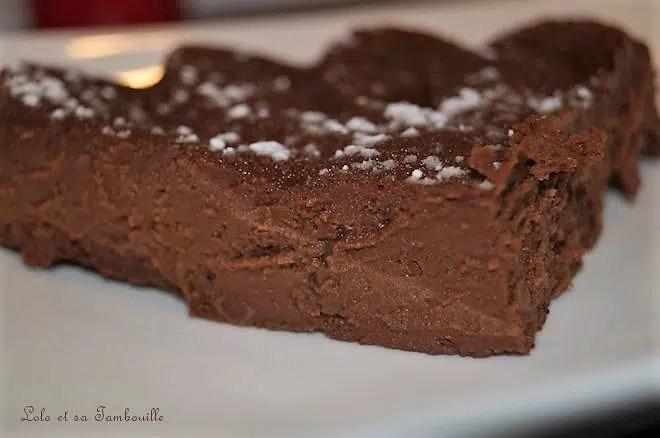 Fondant au chocolat, fromage blanc & nutella