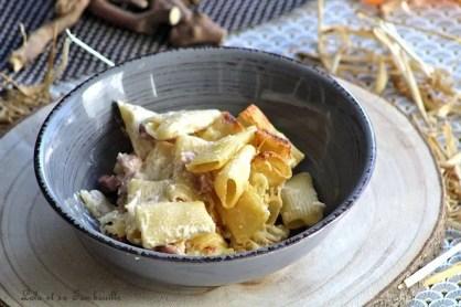 Gratin de pâtes crème de parmesan & lardons (7)