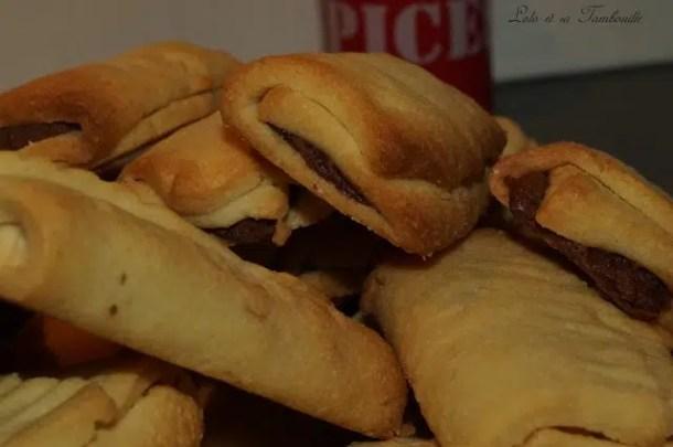 Biscuits fourrés au chocolat façon Kango