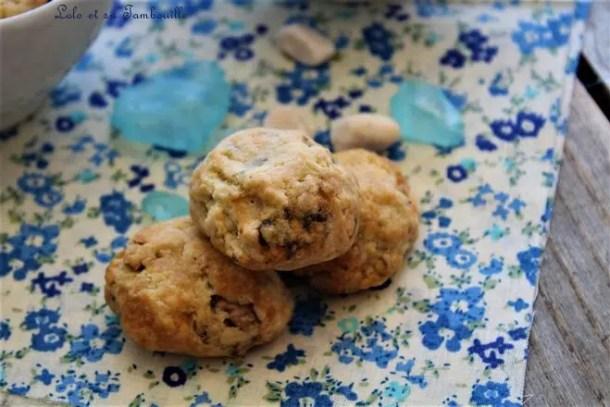 Cookies au roquefort & noix