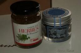 Confit d'herbes de provence et sel noir