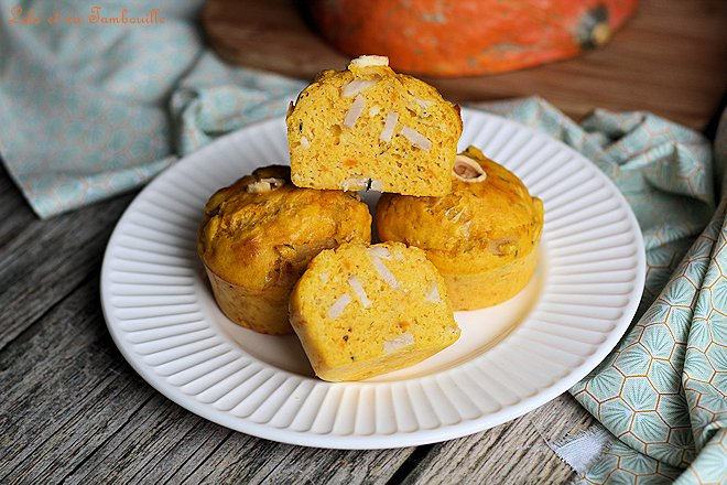 Muffins au potimarron