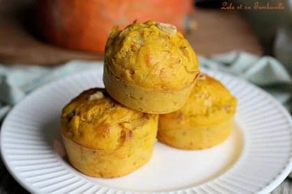 Muffins au potimarron & rôti de porc (3)