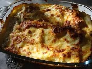 lasagnes aux courgettes et chorizo gourmandine