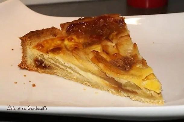 Tarte aux pommes & aux caramels au beurre salé