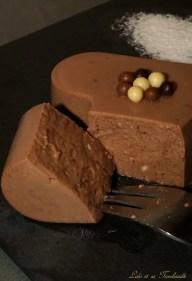Flans au chocolat & crème d'amande (1)