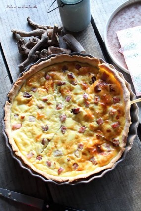 Quiche au bacon & kiri (3)