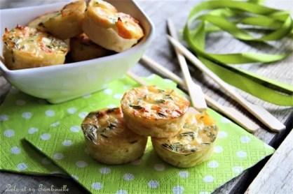 Quichettes sans pâte au saumon fumé & ciboulette (3)