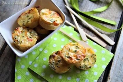 Quichettes sans pâte au saumon fumé & ciboulette (5)