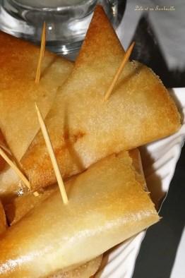 Samossas de chèvre au miel & noix (3)