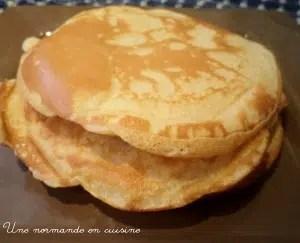 pancakes rapides Critou