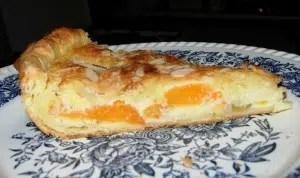 tarte amandine aux abricots Christel