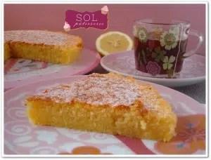 Caprese al limone Sol Pâtisserie