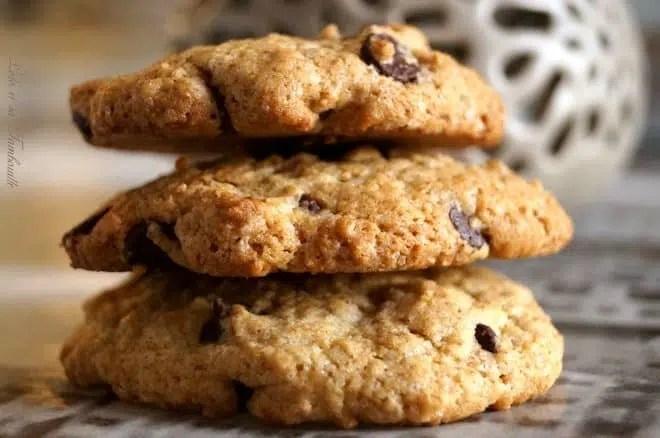 Cookies au son d'avoine & pépites de chocolat (5)
